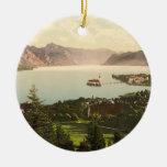Gmunden, Upper Austria Round Ceramic Decoration