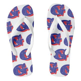GN 3D Flip flops
