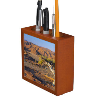 Gnarled Tree And Desert Lands, Richtersveld Desk Organiser