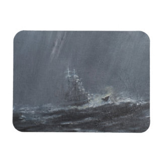 Gneisenau Storm in the North Sea 1940. 2006 Rectangular Photo Magnet