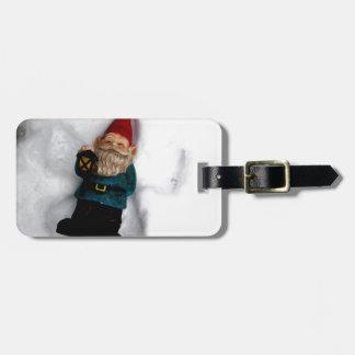 Gnome Angel Luggage Tag
