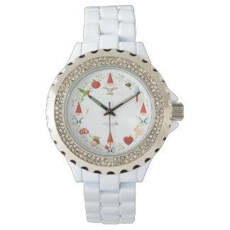 Gnome-body: Watch, enamel Watch