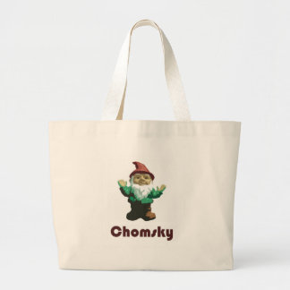 Gnome Chomsky Large Tote Bag