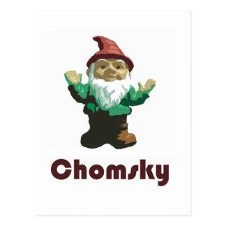 Gnome Chomsky Postcard