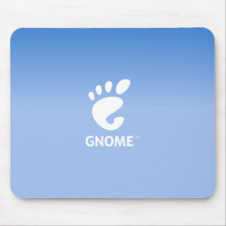 Gnome DE blue Mouse Pad