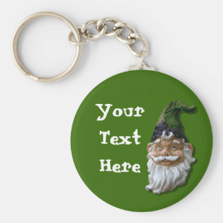 Gnome Face Keychain