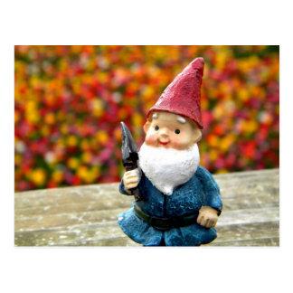 Gnome Field II Postcard