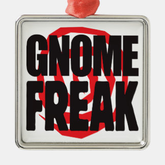 Gnome Freak Christmas Tree Ornaments