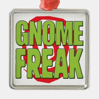Gnome Freak G Christmas Ornament