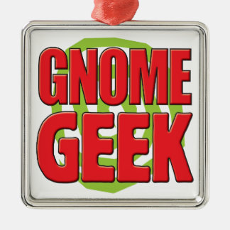 Gnome Geek Christmas Ornaments