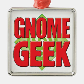 Gnome Geek v2 Christmas Ornaments