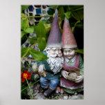 Gnome in the Garden Print