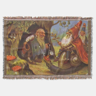Gnome King Cozy Throw Blanket
