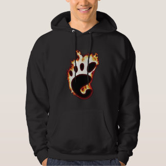 Gnome on fire hoodie