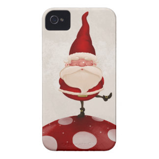 Gnome on fungus iPhone 4 Case-Mate cases