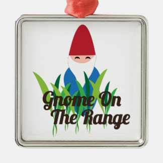 Gnome On The Range Christmas Tree Ornaments