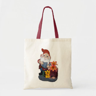 Gnome Photo Design Tote Bag