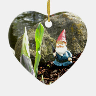 Gnome Pond Christmas Ornaments