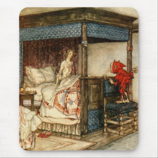 Gnome Surprise by Arthur Rackham Mouse Mat