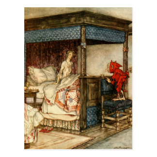 Gnome Surprise by Arthur Rackham Postcard