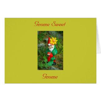 Gnome Sweet Gnome Card