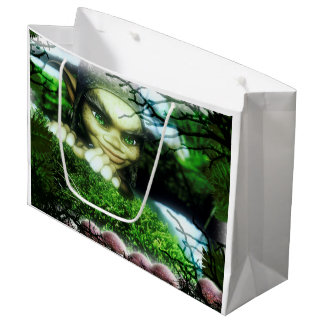 Gnome Sweet Gnome Large Gift Bag
