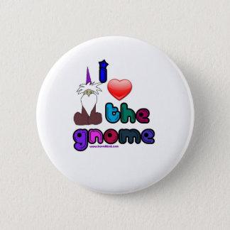 Gnomes Gnomes Gnomes 6 Cm Round Badge