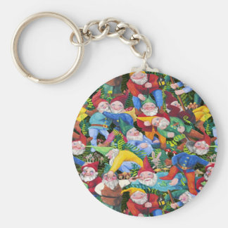 Gnomes Key Ring