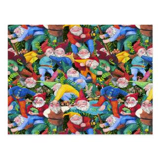Gnomes Postcard