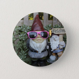 gnomies 6 cm round badge