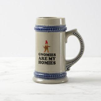 Gnomies Are My Homies Beer Steins