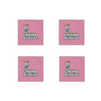 Gnomosexual Stone Magnet