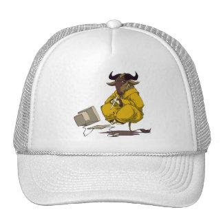 Gnu meditate levitate hat