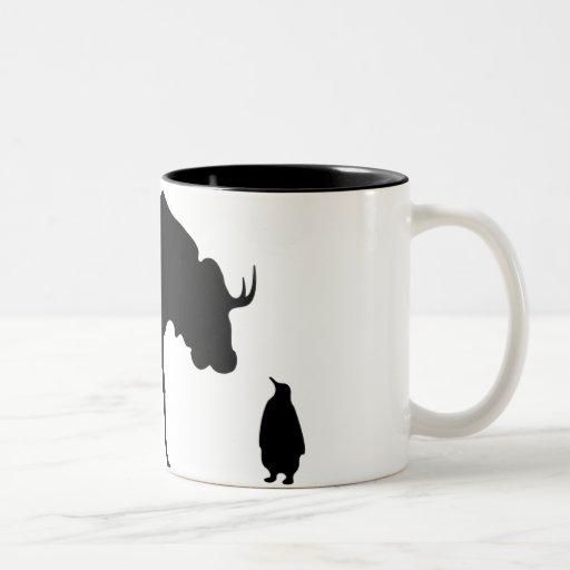 GNU NOT LINUX COFFEE MUGS
