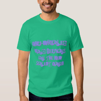 Gnu-Whirled hor d'oeuvres the new Serlent Green b Tshirt