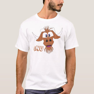GNU - White T-Shirt