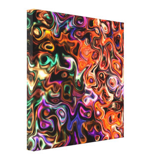 Go and Feel Life: Modern art 546.5 Canvas Print