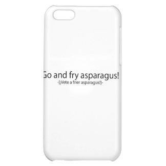Go and fry esparagus iPhone 5C cover