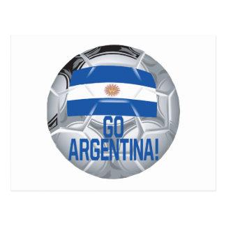 Go Argentina Postcard