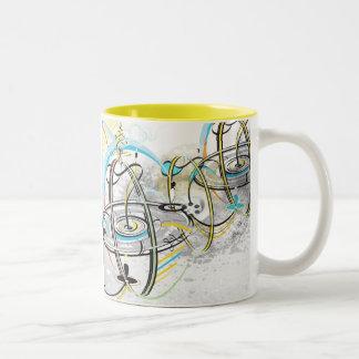 Go around Come around yellow Mug