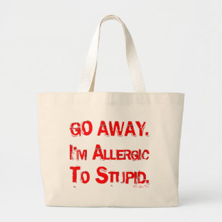 Go Away Tote Bags