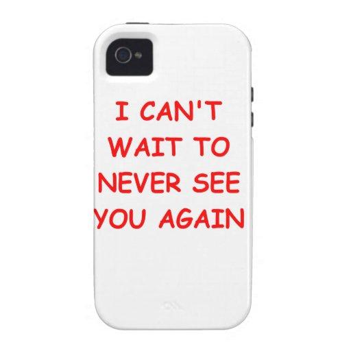 go away iPhone 4/4S case