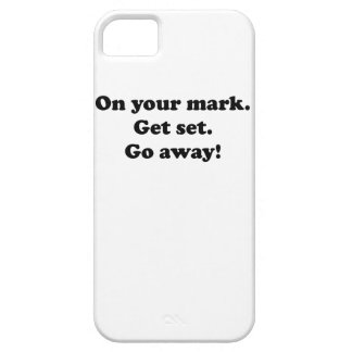 Go Away! iPhone 5 Covers