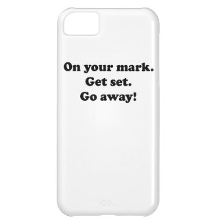 Go Away! Cover For iPhone 5C