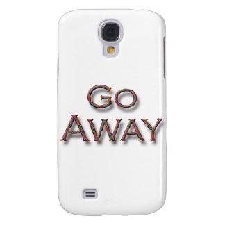 Go Away colrfl Galaxy S4 Cover