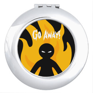 Go Away! Compact Mirrors