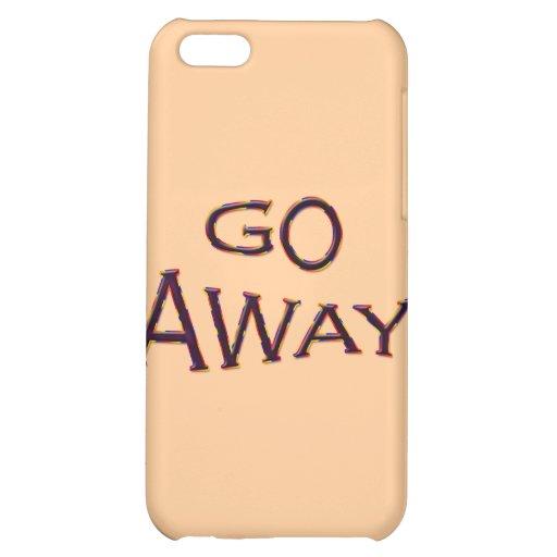 Go Away fsh iPhone 5C Covers