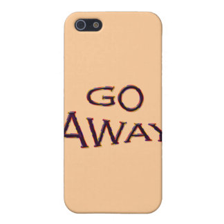 Go Away fsh Cover For iPhone 5