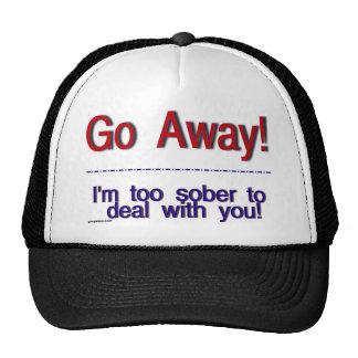 go away hats