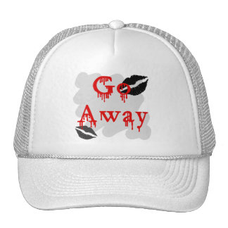 go away trucker hats